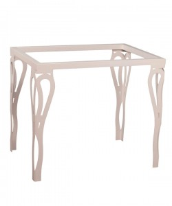 Mesa de forja patas de diseño